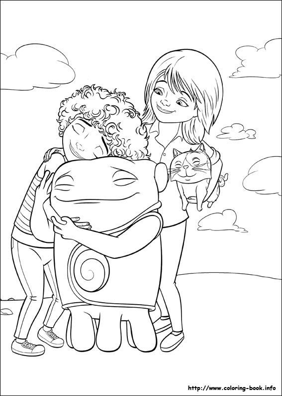 home coloring pages dreamworks home printables a giveaway coloring home pages