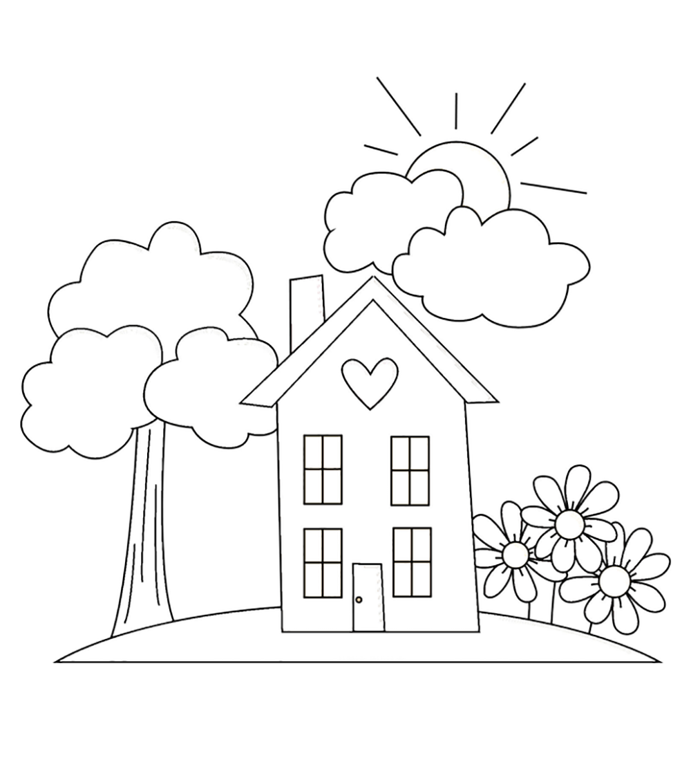 home coloring pages garden coloring page images for kids coloring home coloring home pages