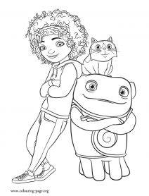 home coloring pages home oh tip39s friend coloring page pages coloring home