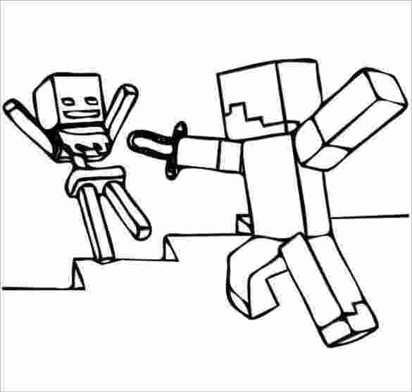minecraft colouring pages 16 minecraft coloring pages pdf psd png free 1