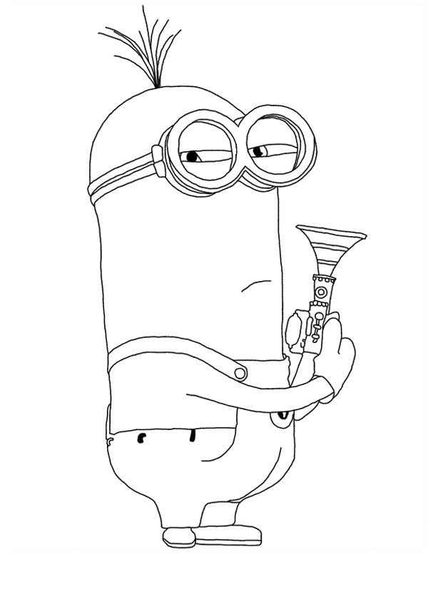 minion kevin how to draw kevin from minions step by step characters pop culture free online kevin minion
