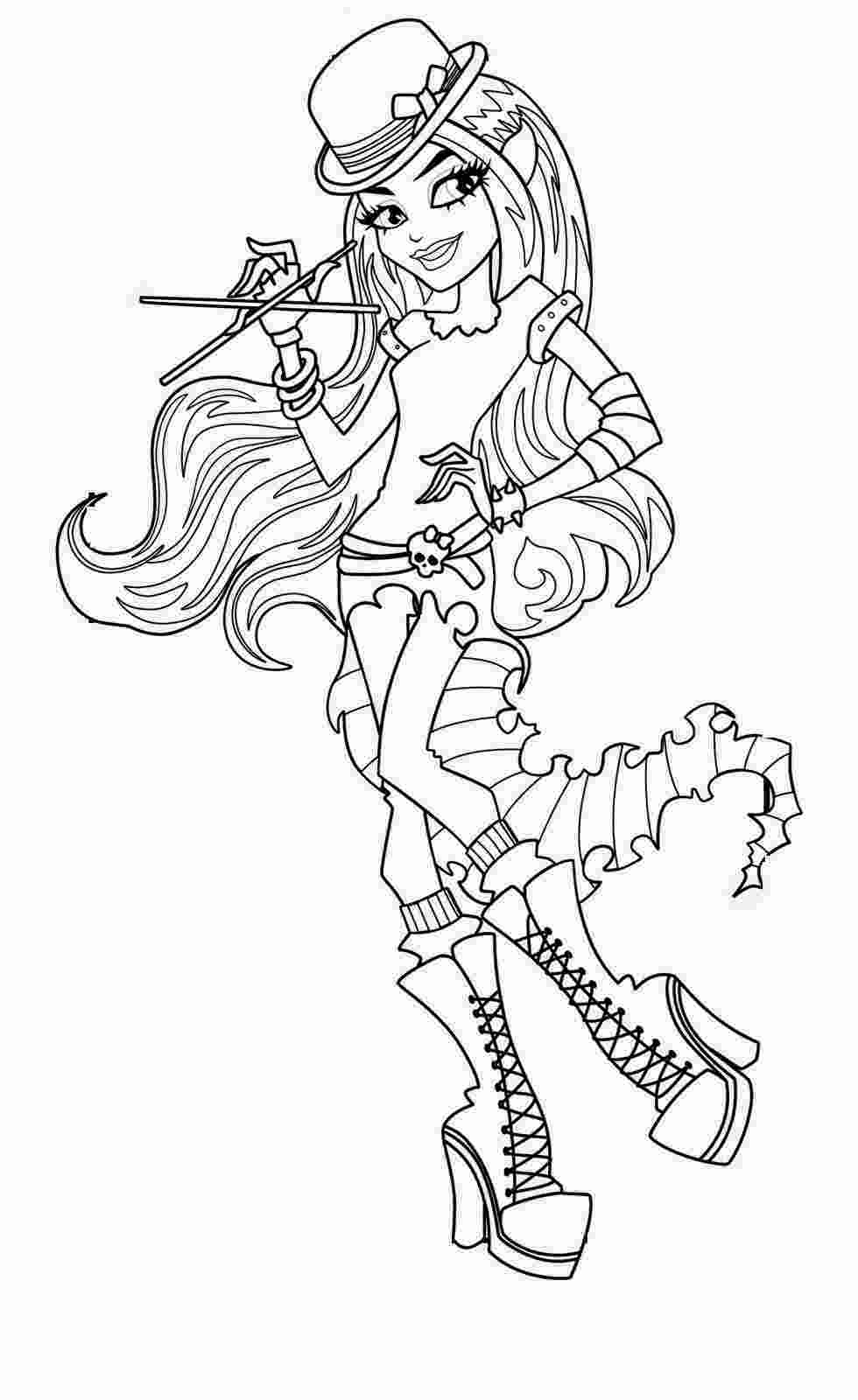 monster high coloring pages printable coloring pages monster high coloring pages free and printable 1