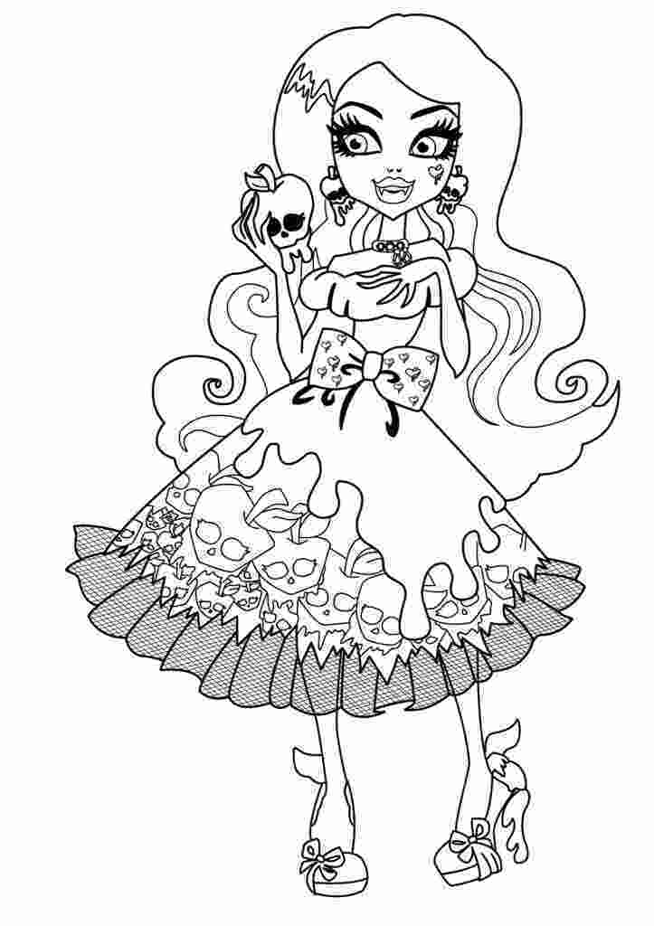 monster high coloring pages printable monster high coloring pages girls coloring series big