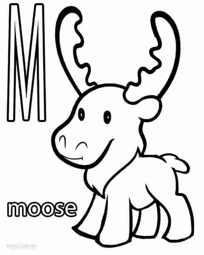 moose coloring page printable printable moose coloring pages for kids cool2bkids