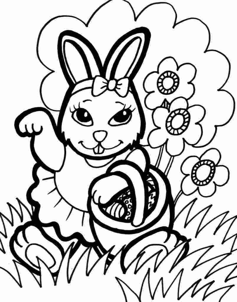 rabbit printable coloring pages bunny coloring pages best coloring pages for kids