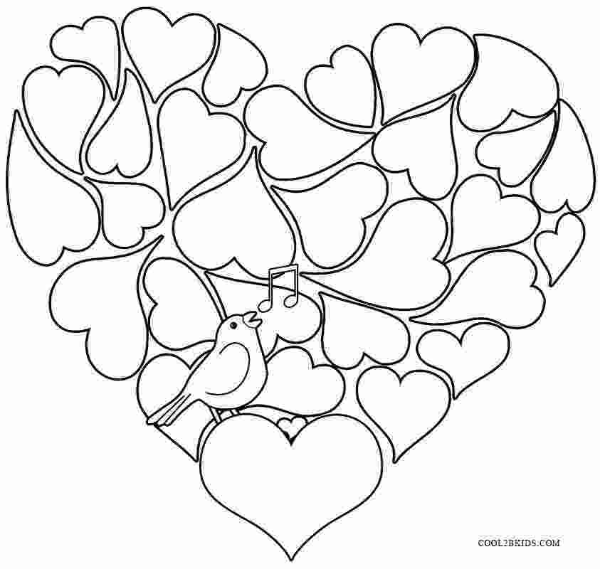 valentines coloring pictures printable valentine coloring pages for kids cool2bkids 2