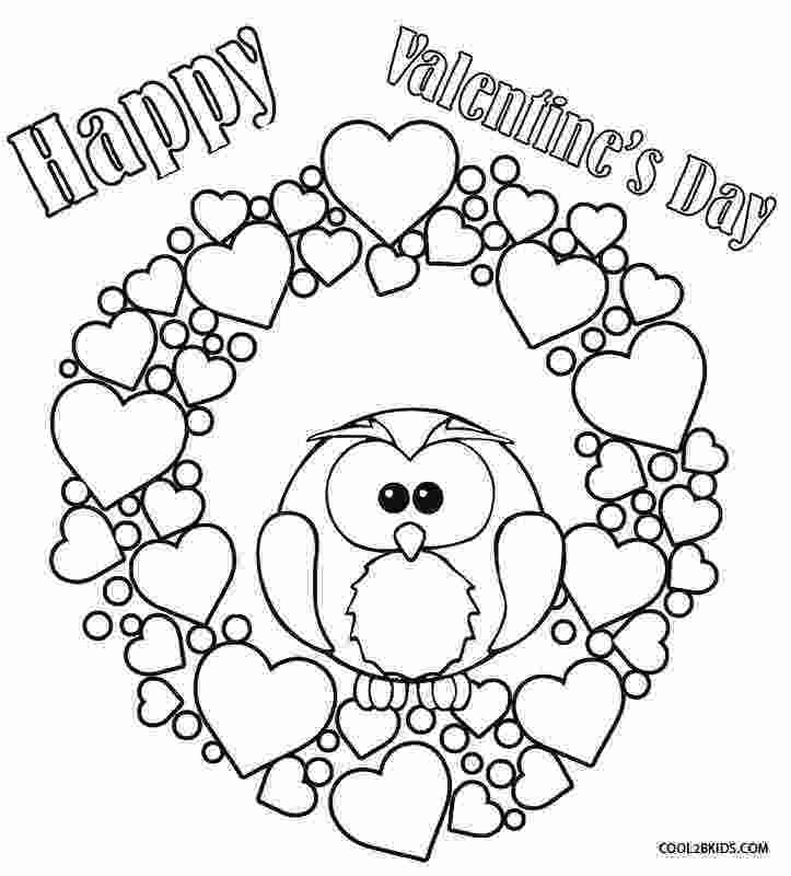 valentines coloring pictures printable valentine coloring pages for kids cool2bkids