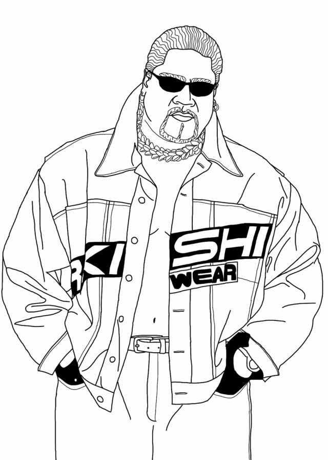 wwe coloring wwe drawing at getdrawingscom free for personal use wwe coloring wwe