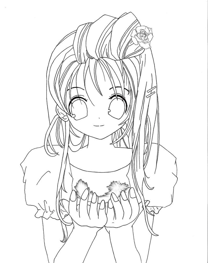 anime girl face coloring pages anime coloring pages cat girl face coloringstar face coloring girl pages anime