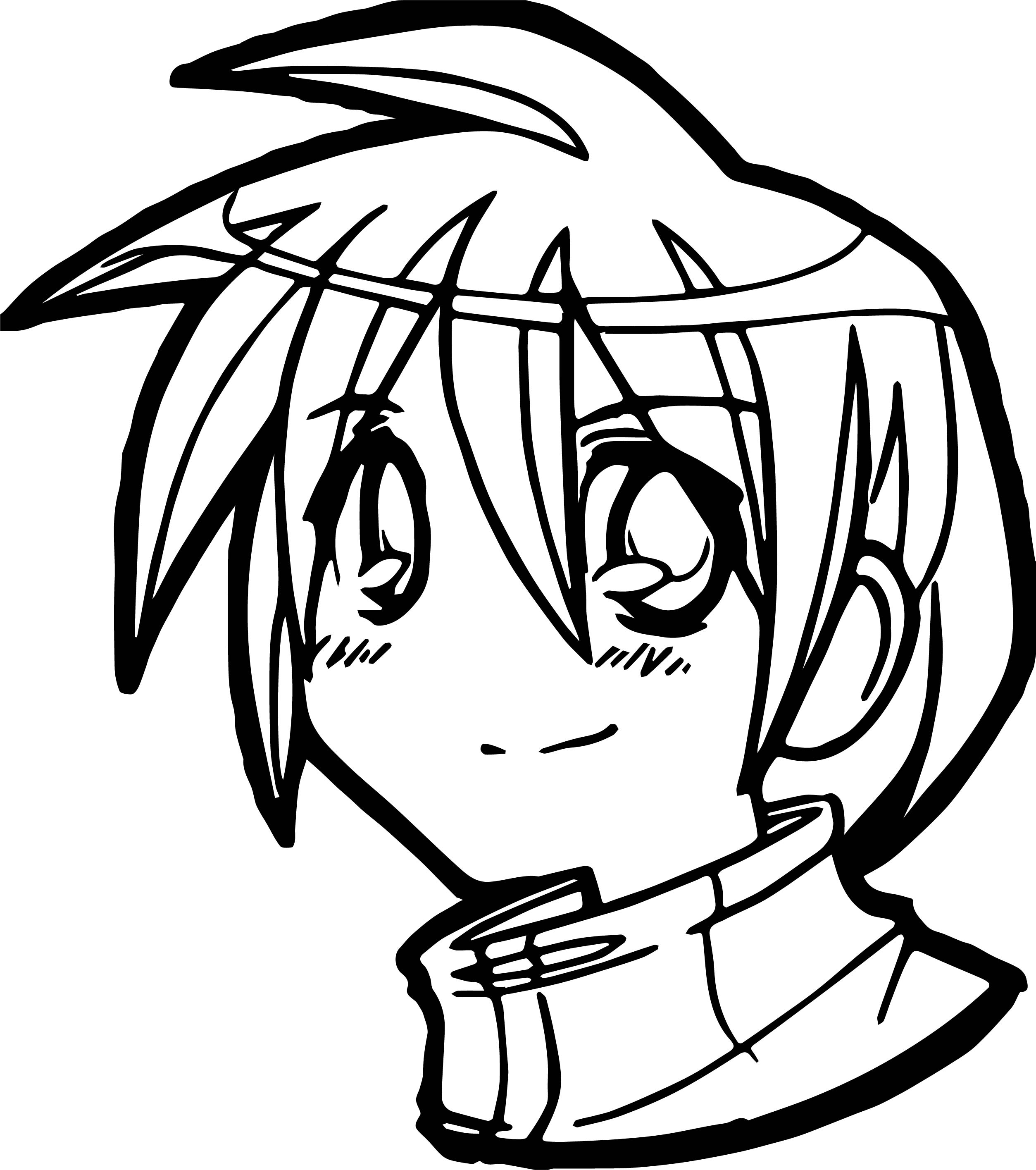 anime girl face coloring pages anime face coloring pages coloring anime girl face pages