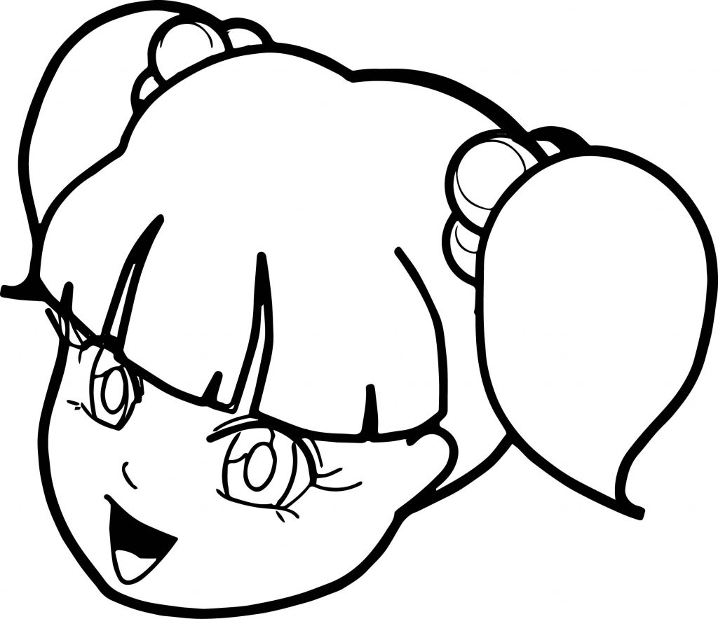 anime girl face coloring pages anime face coloring pages face coloring girl pages anime