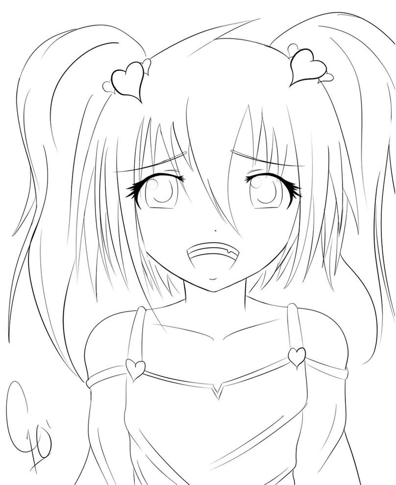 anime girl face coloring pages anime girl pikachu dress coloring page wecoloringpage face anime pages girl coloring