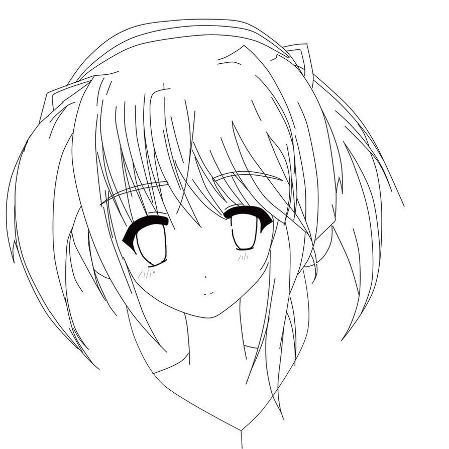 anime girl face coloring pages cute anime face girls coloring pages coloring home anime coloring face pages girl