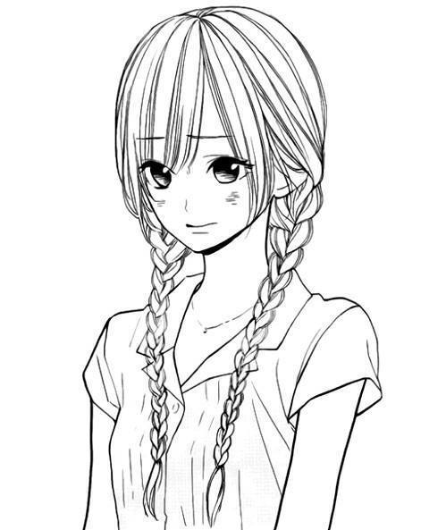 anime girl face coloring pages pin on animals girl coloring pages anime face