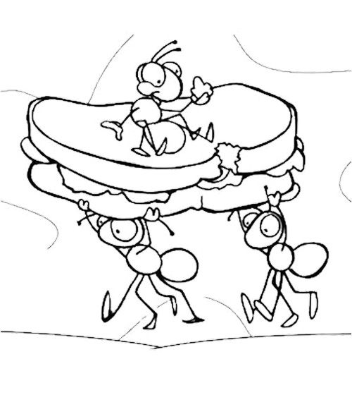 ants coloring pages ant coloring pages for kids coloring home coloring pages ants