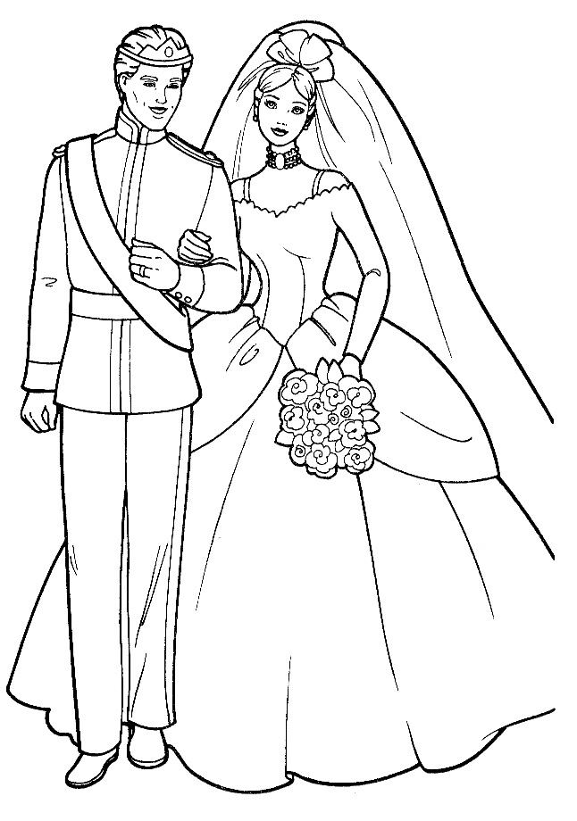barbie wedding coloring pages wedding coloring pages best coloring pages for kids coloring barbie wedding pages