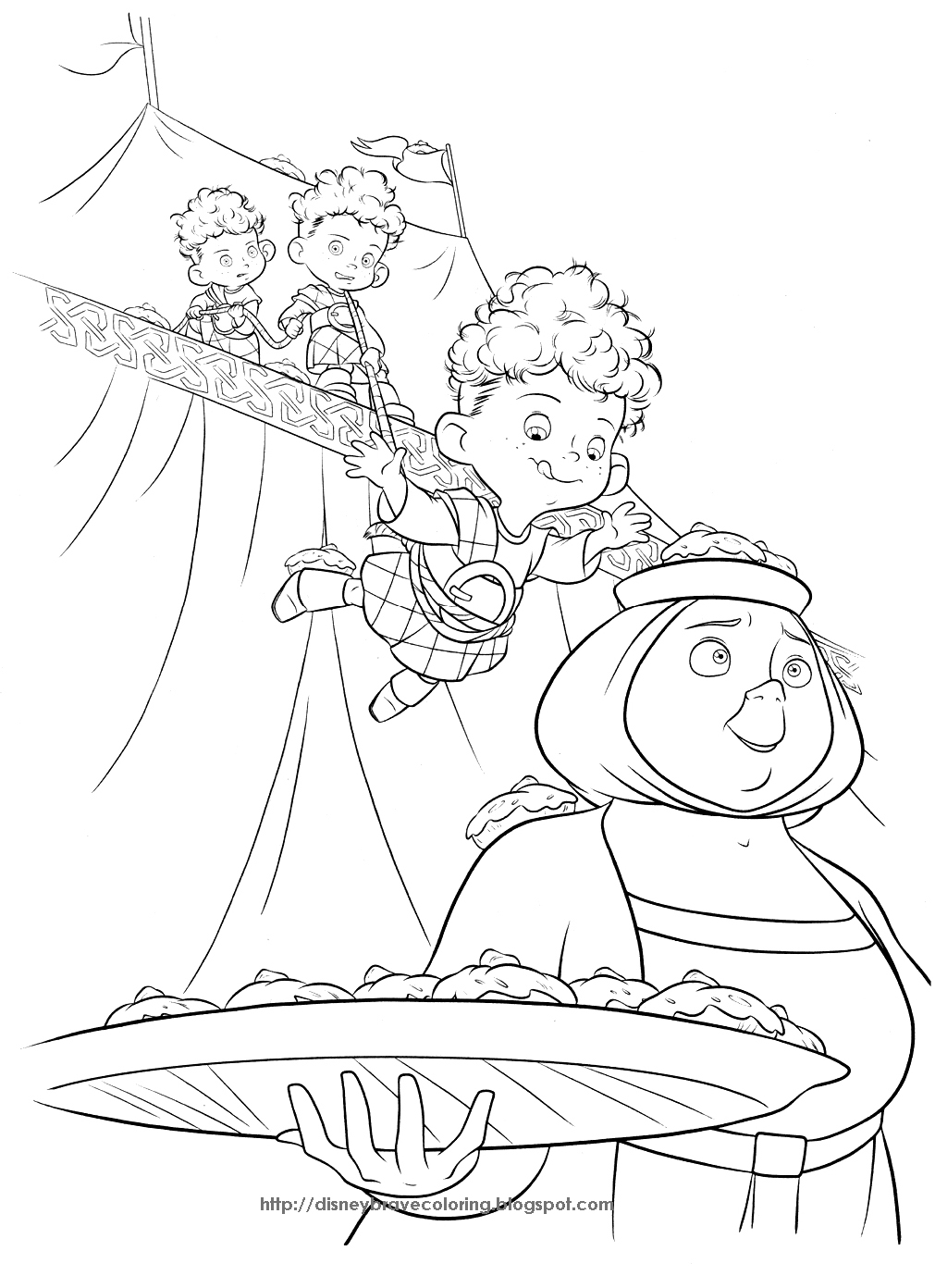 brave coloring brave merida coloring pages brave coloring