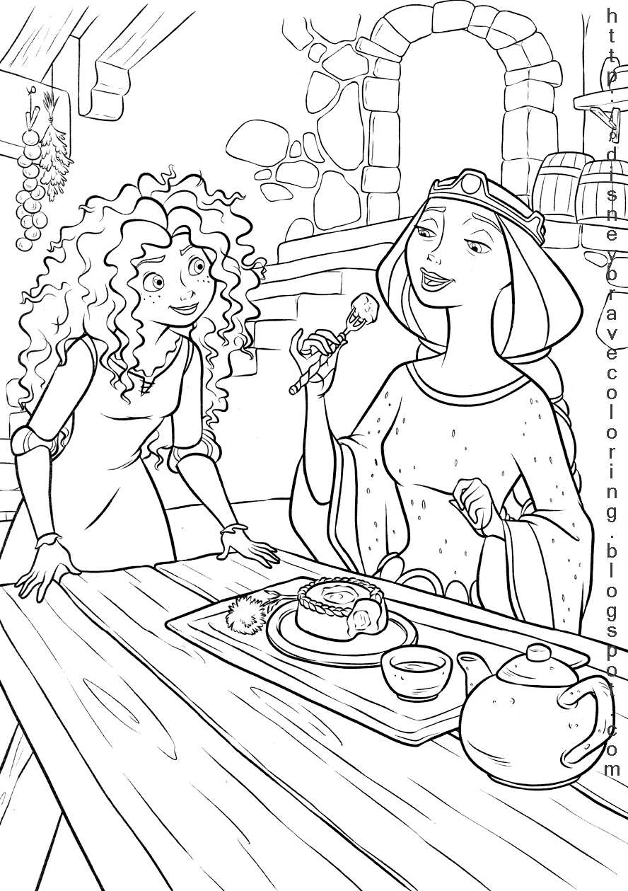 brave coloring disney coloring pages brave colouring pictures brave coloring