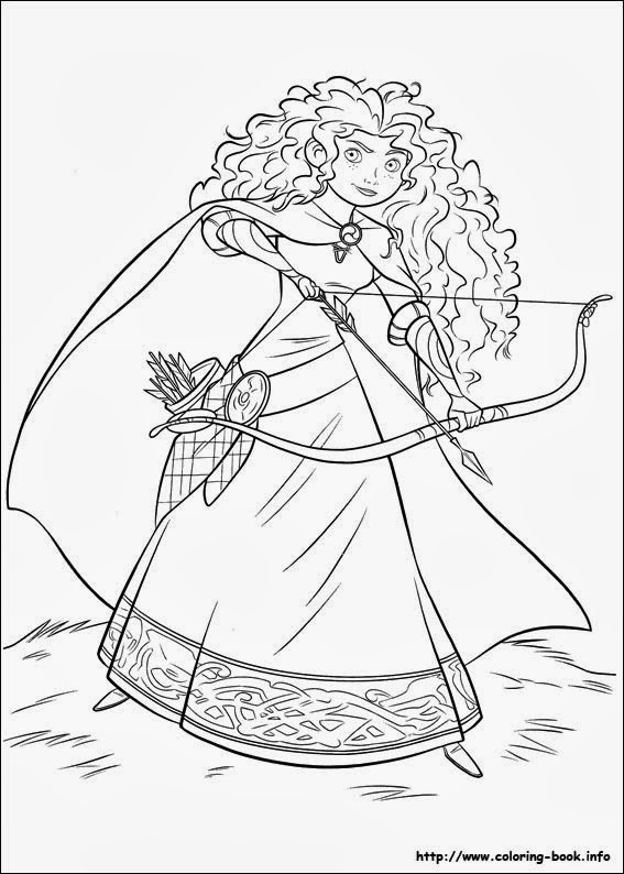 brave coloring disney coloring pages coloring brave
