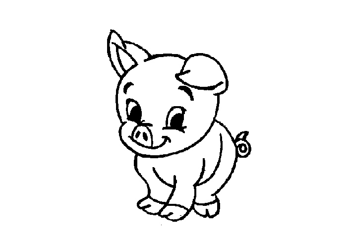 cartoon pig coloring pages cute pig cartoon coloring page h m coloring pages pig cartoon coloring pages