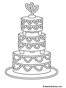 coloring cake pictures birthday cake coloring pages hellokidscom coloring cake pictures