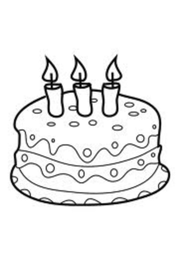 coloring cake pictures free printable birthday cake coloring pages for kids cake coloring pictures 1 1