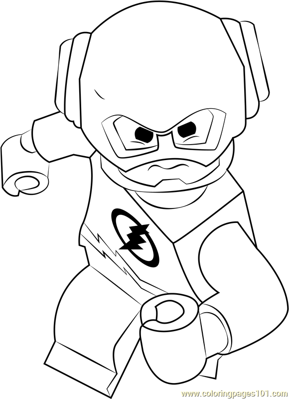 coloring lego flash lego flash coloring pages at getcoloringscom free lego flash coloring