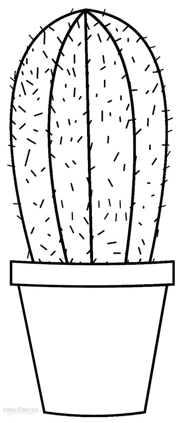 coloring pages of cactus cactus coloring page for kids it39s free go designs pages coloring of cactus