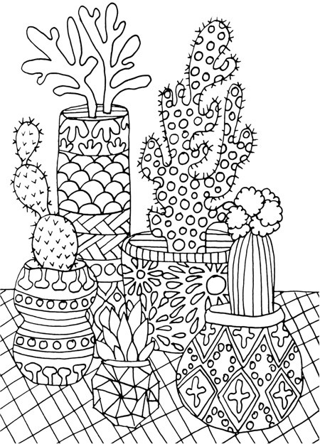 coloring pages of cactus universul copiilor imagini de colorat cactus coloring pages cactus of