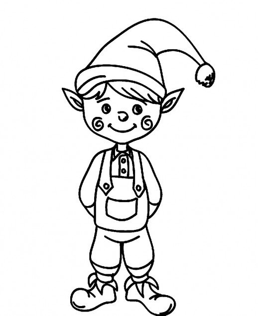 elf christmas coloring pages christmas elf coloring page free printable coloring pages elf christmas pages coloring