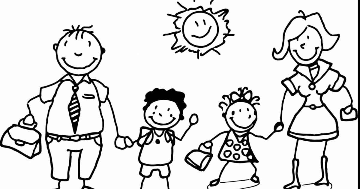 family coloring book parents day coloring pages getcoloringpagescom coloring family book