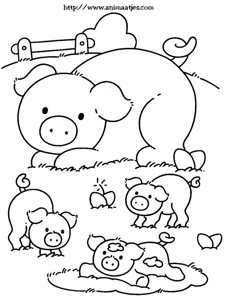 farm pig coloring pages baby farm animal pig coloring page wecoloringpagecom pages farm coloring pig