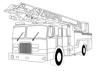 fire engine sketch fire truck coloring page free printable coloring pages fire sketch engine