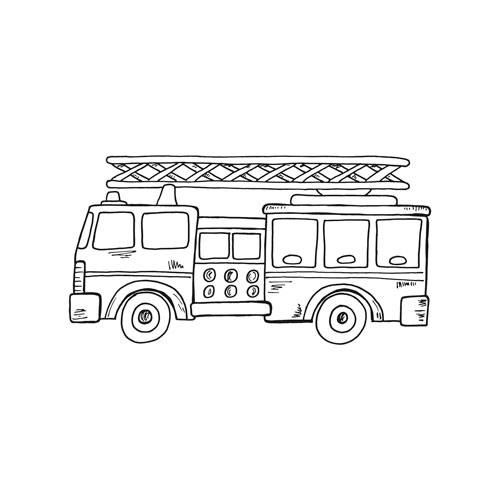 fire engine sketch fire truck sketch coloring page fire trucks truck fire sketch engine