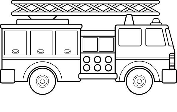fire engine sketch how to draw a fire truck step by step drawing tutorials fire engine sketch