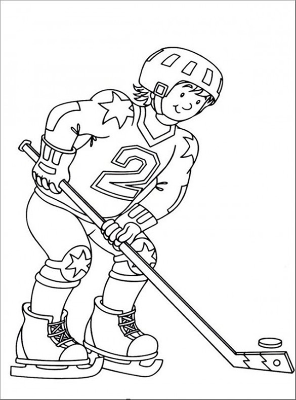 hockey pictures to color 16 hockey coloring pages free word pdf jpeg png color hockey pictures to