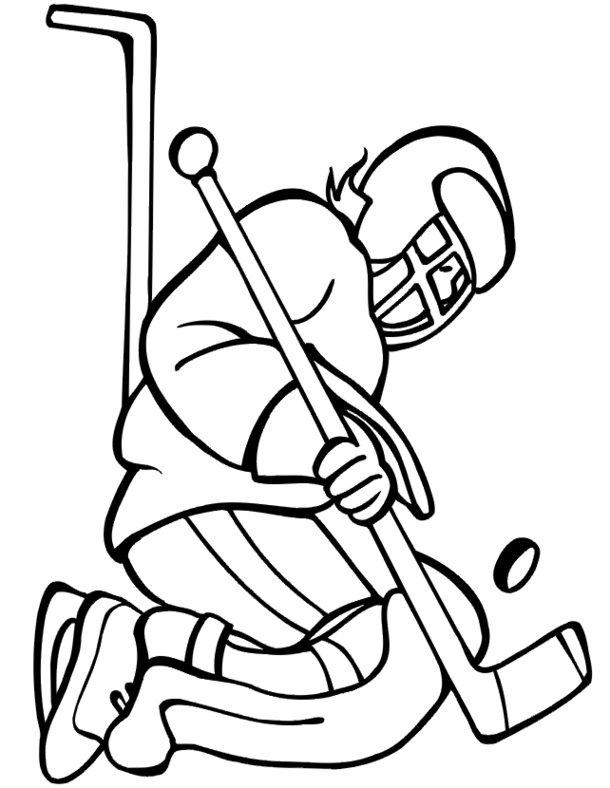 hockey pictures to color coloring lab pictures to hockey color