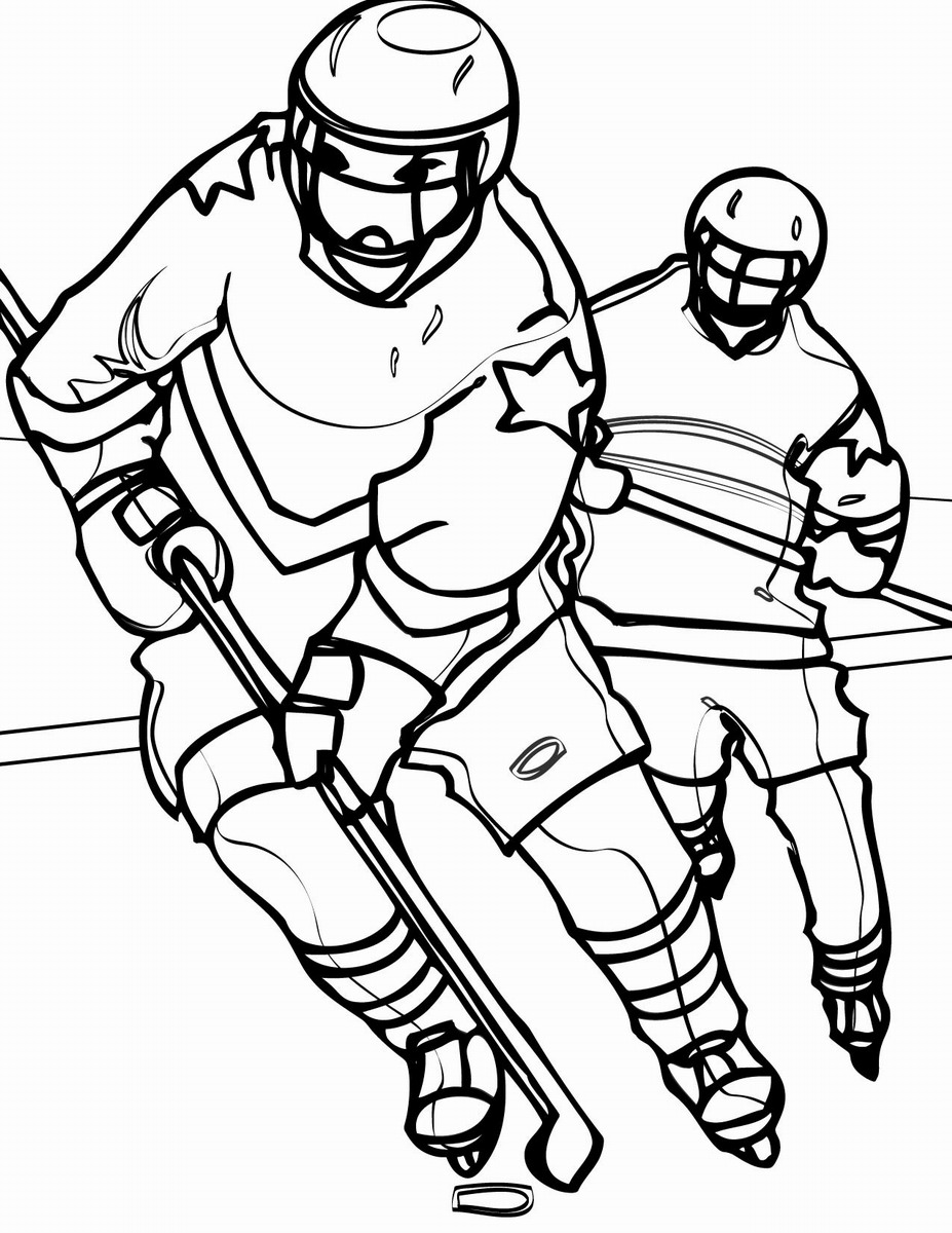 hockey pictures to color hockey coloring pages getcoloringpagescom hockey pictures color to