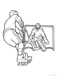 hockey pictures to color hockey coloring pages to pictures color hockey