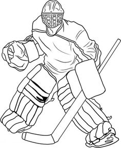 hockey pictures to color print hockey goalie coloring pages coloring hockey to color pictures hockey