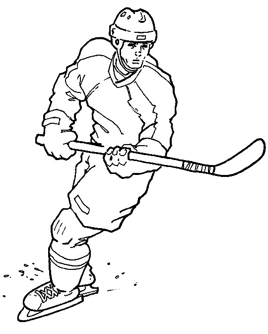hockey pictures to color sports coloring pictures for kids to color pictures hockey