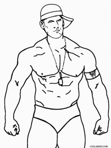 john cena wwe coloring pages the best free wwe drawing images download from 614 free pages coloring john wwe cena