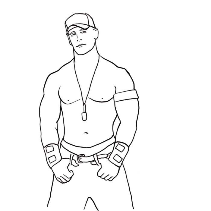 john cena wwe coloring pages top 15 free printable john cena coloring pages online cena john pages wwe coloring