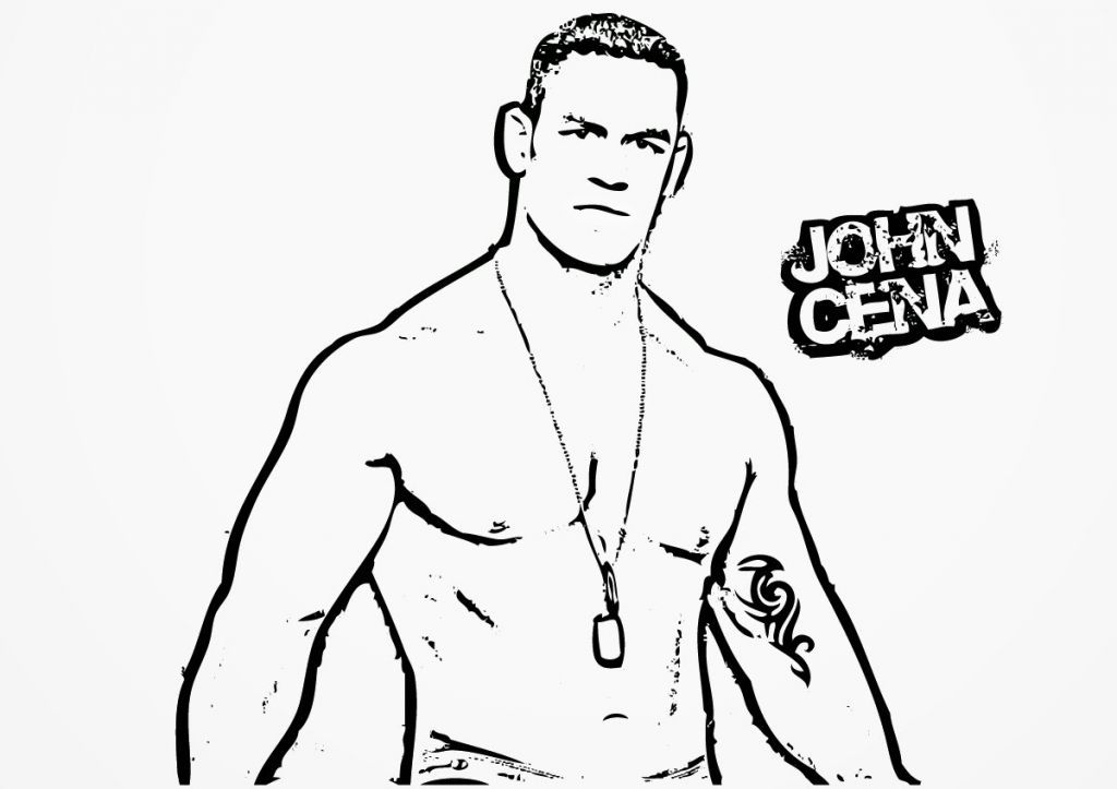 john cena wwe coloring pages wwe coloring pages bestofcoloringcom cena wwe john pages coloring