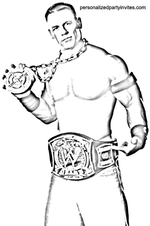 john cena wwe coloring pages wwe coloring pages bestofcoloringcom pages wwe coloring cena john