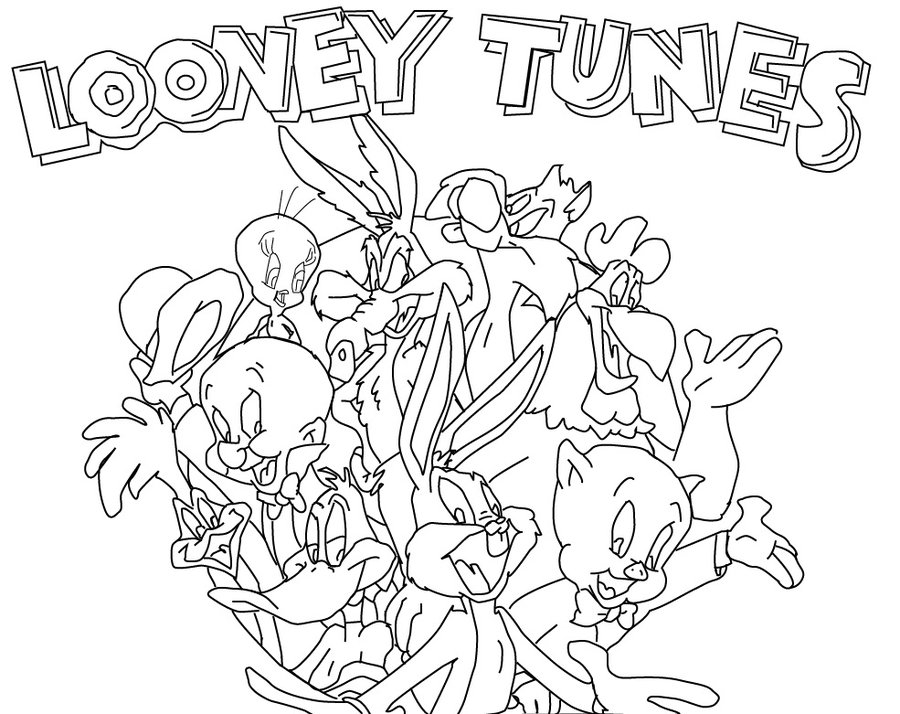 looney tunes printable coloring pages free printable looney tunes coloring pages for kids pages looney printable coloring tunes