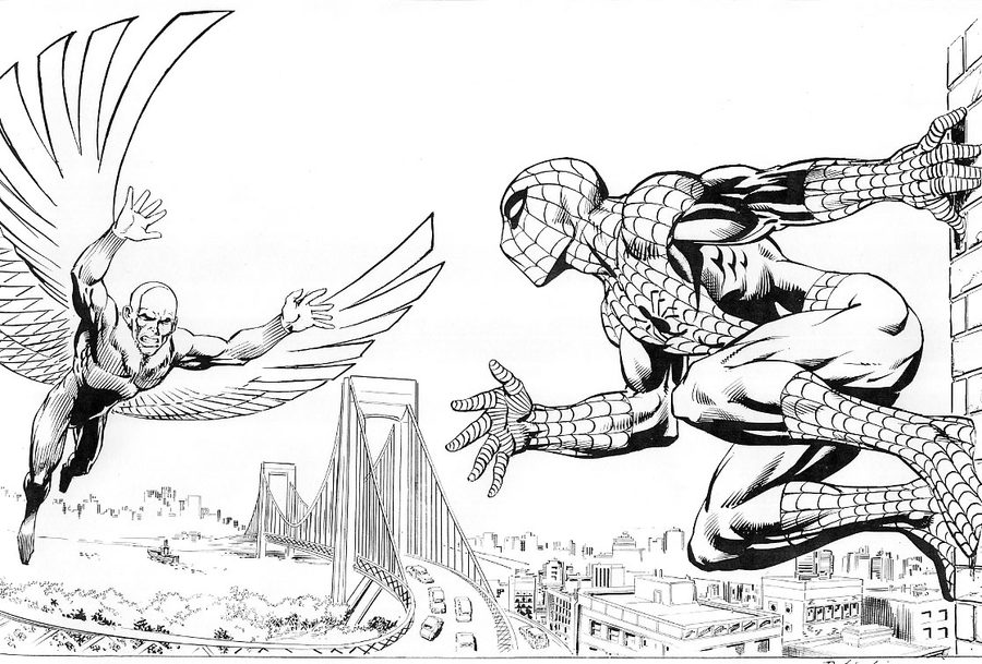marvel vulture coloring page how to draw the vulture spider man homecoming drawing coloring vulture page marvel