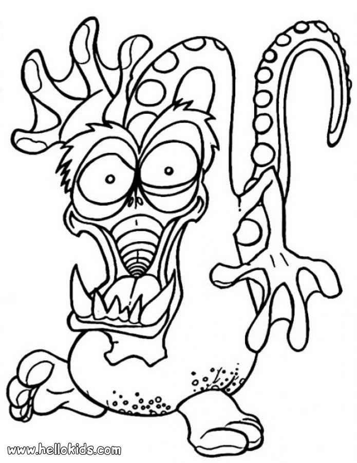 monster coloring free printable monster coloring pages for kids cool2bkids coloring monster