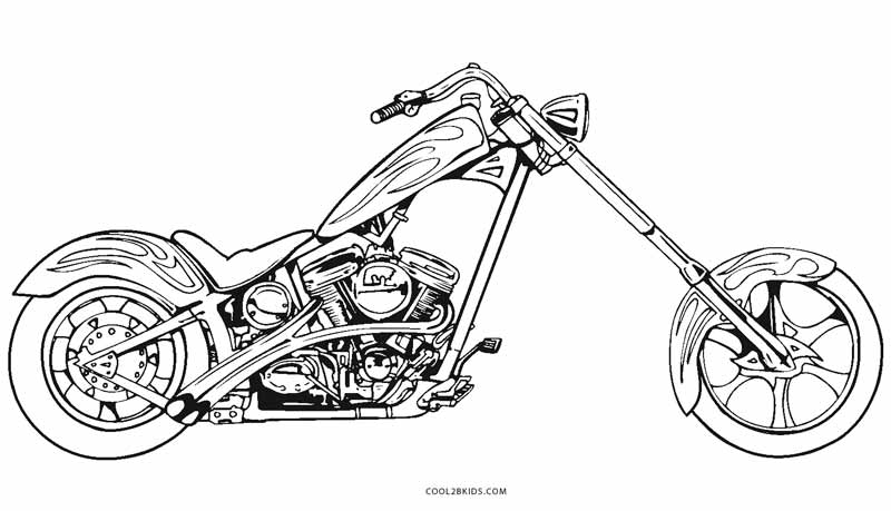 motorbike colouring pictures free printable motorcycle coloring pages for kids cool2bkids pictures colouring motorbike