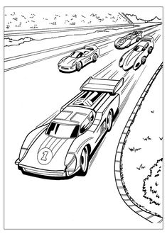race car pictures for kids four car hot wheels speeding coloring page kolorowanki i for kids race car pictures